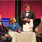 Stephen Mangan, Kara Tointon and Cast in The Man in the White Suit at Wyndhams Theatre