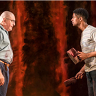 Alfred Molina and Alfred Enoch in Red at Wyndham's Theatre. Photo by Johan Persson.