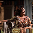 Lucy Cohu in the West End production of The Height of the Storm. Photo Credit: Hugo Glendinning.