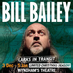 Book Bill Bailey - Larks In Transit Tickets