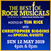 Book The Best of... Rock Musicals Tickets