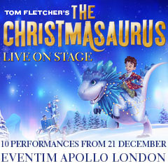 Book The Christmasaurus Live On Stage Tickets