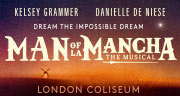 Book Man of La Mancha Tickets