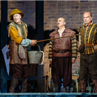 Nicholas Lyndhurst, Peter Polycarpou and Kelsey Grammer in Man of La Mancha at London Coliseum - Photo Manuel Harlan