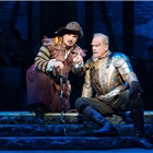 Peter Polycarpou and Kelsey Grammer in Man of La Mancha at London Coliseum - Photo Manuel Harlan