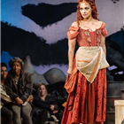 Danielle de Niese in Man of La Mancha at London Coliseum - Photo Manuel Harlan