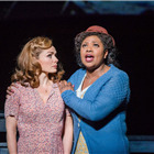 Katherine Jenkins and Brenda Edwards in Carousel at the London Coliseum. Photo by Tristram Kenton