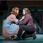 Katherine Jenkins and Alfie Boe in Carousel at the London Coliseum. Photo by Tristram Kenton