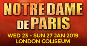 Book Notre Dame de Paris Tickets