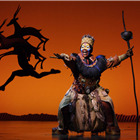 Brown Lindiwe Mkhize as Rafiki, by Brinkoff and Mogenburg.