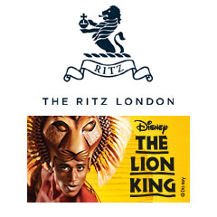 Book The Lion King + 3 Course Lunch & Glass of Champagne at The Ritz Tickets