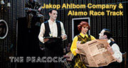Book Jakop Ahlbom Company and Alamo Race Track - Lebensraum Tickets