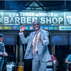 Barber Shop Chronicles at Roundhouse. Photo credit: Marc Brenner