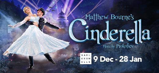 Matthew Bournes Cinderella at Sadlers Wells