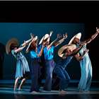 Alvin Ailey American Dance Theater at Sadlers Wells, London. Photo credit: Paul Kolnik