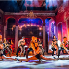 The cast of Carmen La Cubana at Sadler's Wells Theatre, London