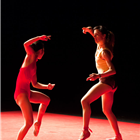 Dancers performing Cecilia Bengolea and François Chaignaud - DFS at Sadler's Wells Theatre, London