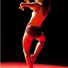 Dancer performing Cecilia Bengolea and François Chaignaud - DFS at Sadler's Wells Theatre, London