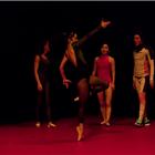 Dancers performing Cecilia Bengolea and François Chaignaud - DFS at Sadler's Wells Theatre, London