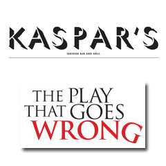Book The Play That Goes Wrong + 2 Course Post-Matinee Dinner at Kaspar