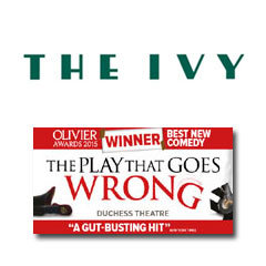 Book The Play That Goes Wrong + 2 Course Post-Theatre Dinner at The Ivy Tickets
