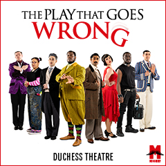 Book The Play That Goes Wrong + 2 Course Dinner Tickets