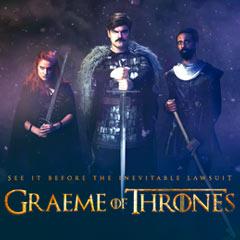 Book Graeme Of Thrones Tickets