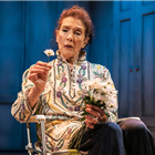 Linda Marlowe in Harold And Maude at the Charing Cross Theatre, London. Credit: Darren Bell