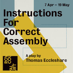 Book Instructions for Correct Assembly Tickets