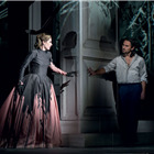 Mariusz Kwiecen as Don Giovanni and Malin Bystr�m as Donna Anna, Act I (Photo: ROH/Bill Cooper, 2015)