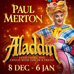 Book Aladdin tickets - the New Wimbledon Theatre Tickets