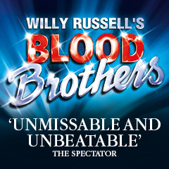 Book Blood Brothers tickets - the New Wimbledon Theatre Tickets