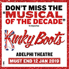 Book Kinky Boots - The Ivy Market Grill - 2 Course Pre Theatre Tickets