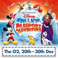Book Disney On Ice presents Passport To Adventure - London O2 Arena Tickets