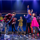 Be More Chill at The Other Palace (photos of Broadway cast). Photo credit: Baranova.