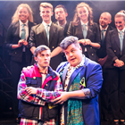 Rob Houchen (Eugene), Scott Paige (Theo) and Company. Photo Scott Rylander