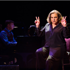 Kathleen Turner presents her one-woman show Finding My Voice at The Other Palace, London.