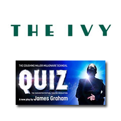 Book Quiz + 2 Course Post-Theatre Dinner at The Ivy Tickets