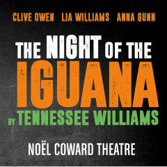 Book The Night Of The Iguana + 2 Course Post-Theatre Dinner at The Ivy Tickets