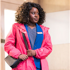 Susan Wokoma in Labour of Love. Photo by Johan Persson.