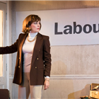 Rachael Stirling in Labour of Love. Photo by Johan Persson.