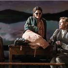 Shirley Henderson and Michael Shaeffer in Girl From the North Country at the Noel Coward Theatre, London