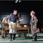 Ciarán Hinds and the cast of Girl From the North Country at the Noel Coward Theatre, London