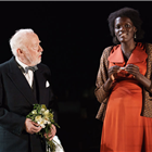 Jim Norton and Sheila Atim in Girl From the North Country at the Noel Coward Theatre, London