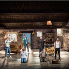 The cast of The Lieutenant of Inishmore. Credit: Johan Persson.