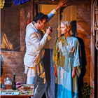 Clive Owen and Lia Williams in The Night of the Iguana at the Noel Coward Theatre - photo credit: Brinkhoff-Moegenburg