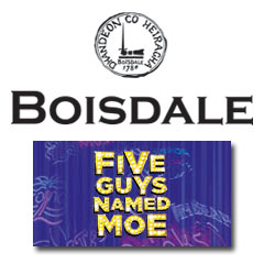 Book Five Guys Named Moe + 2 Course Meal & Glass of Champagne at Boisdale of Mayfair Tickets