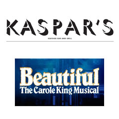 Book Beautiful - The Carole King Musical + 2 Course Pre-Theatre Dinner at Kaspar