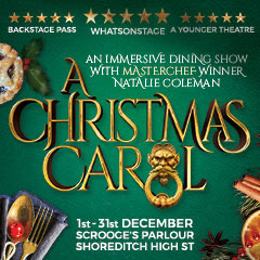 Book A Christmas Carol at Scrooge