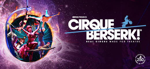 Cirque Berserk! has moved to Theatre Royal Stratford East